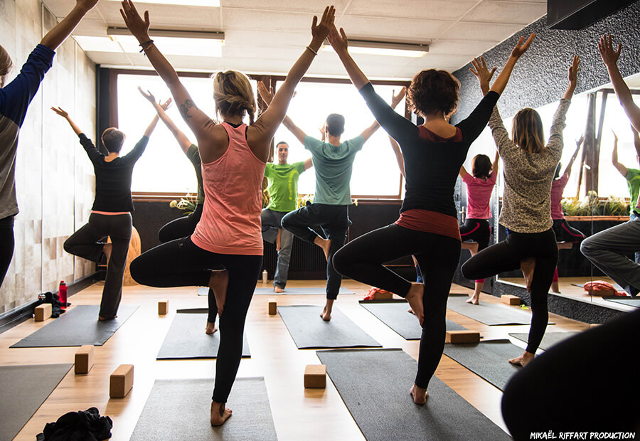 Cours de Satiam Yoga à la salle Atelier du Corps